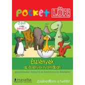Észlények dinoszauruszos foglalkoztató Pocket LÜK füzet + alaplap LDI904/A (DI)