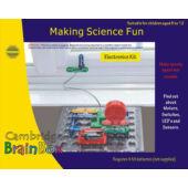 Brainbox elektromos kísérletezős riasztós kis készlet 381366