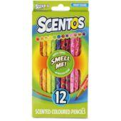 Scentos - Smell Me - Illatos Színes ceruza 12db (RE)
