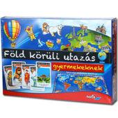 Föld körüli utazás gyerekeknek Noris társasjáték (SI)