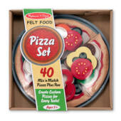 Filc pizza készítő szett - Melissa Doug 13974 (ME)