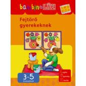 Fejtörő gyerekeknek LÜK Bambino füzet (LDI-117) (DI)