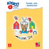 LOGICO Primo feladatlapok - Festék, olló, építőkocka (3219) 3+ (TF)