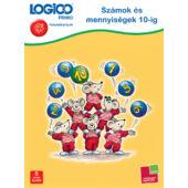 LOGICO Primo feladatlapok - Számok és mennyiségek 10-ig (3226) 5+ (TF)