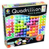 Quadrillion tetrisz játék változtatható alappal Smart Games (GA)
