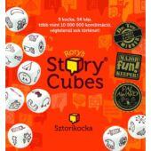 """Sztorikocka (Story cube) mese / """"sztoris"""" társasjáték - n.sárga"""