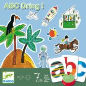 ABC Dring szókincsfejlesztő társasjáték - Djeco 8484 (BO)
