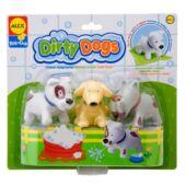 Alex Dirty dogs -  Sáros kutyusok fürdőjáték - 825DN (KE)