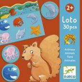 Állatos loto játék - Djeco 8120 (BO)