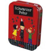 Fekete Péter kártya játék fémdobozban - Haba- Schwarzer Peter (HA)