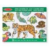 Állatos színező, kifestő (50 lapos) - Melissa Doug 14200 (ME)