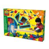 Kipp kopp kalapács kreatív, készségfejlesztő gyerekjáték - SES (hajós) 42553 (RE)