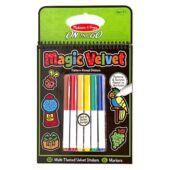 Bársony matrica készítő, színező szett - Melissa Doug 15398 (ME)