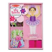 Balerina öltöztetős játék fából - Nina Ballerina Melissa Doug 13554 (ME)