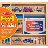 Gyereknyomda - autós, járműves gyereknyomda szett - Melissa Doug 12409 (ME)