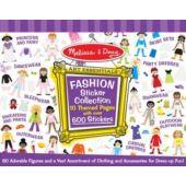 Matricás öltöztetős kreatív játék készlet lányoknak - Melissa Doug 14190 (ME)