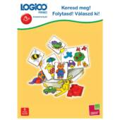 LOGICO Primo feladatlapok - Keresd meg! Folytasd! Válaszd ki! (3225) 5+ (TF)