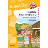 Practise your english 2 - angol nyelvi gyakorló lük füzet LDI312 (DI)