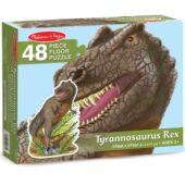 T-Rex padló puzzle 48db-os - Melissa 10431 (ME)