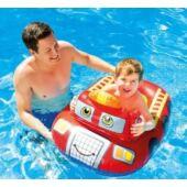 Felfújható gyerek csónak - tűzoltó autós (JN)