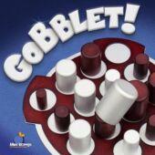 Gobblet Classic logikai társasjáték fából - amőba játék másképpen (GE)