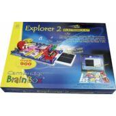 """Cambridge Brainbox - ÓRIÁSI elektronikai tudományos játék készlet - """"Explorer 2"""" (BO)"""