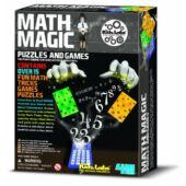 Matek mágus - varázslatos matematika, bűvészkedős játék - 4M Math Magic 03994 (RE)