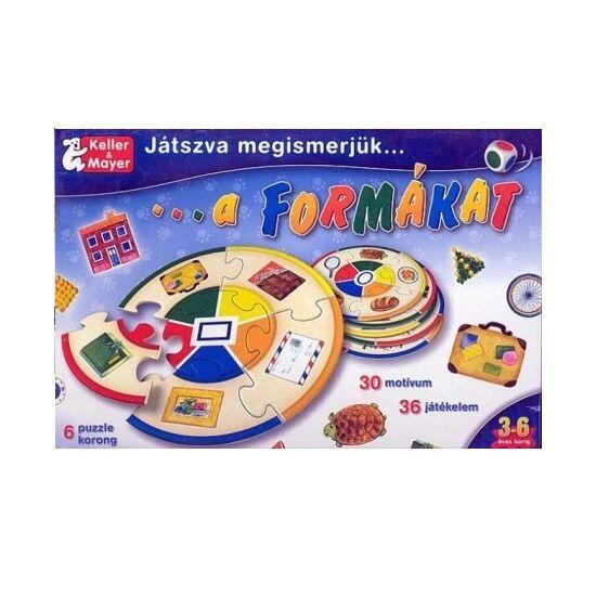 Játszva megismerjük a formákat Keller Mayer játék (087) (KM)