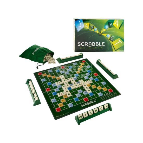 Scrabble társasjáték - betűjáték (234) (JN)