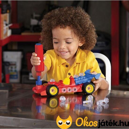 Autószerelős játék fiúknak - elemes csavarhúzóval - LR4131 (LR)