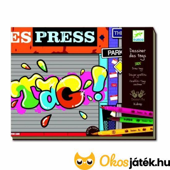 Graffitirajzolás - Djeco  8687 (BO)