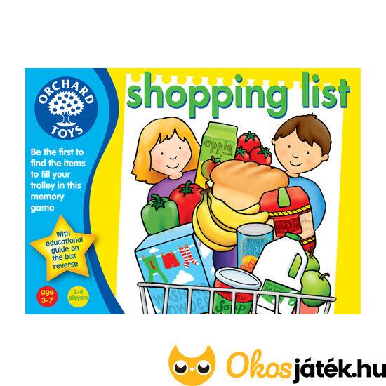 Bevásárlólista Shopping list Orchard Toys - Bevásárlós játék (KA)
