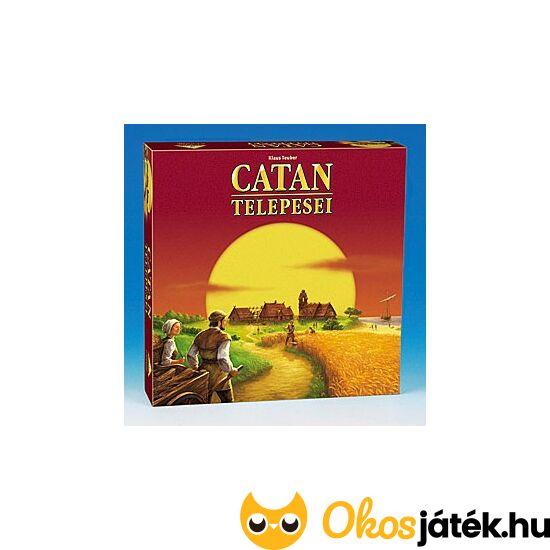 CATAN telepesei társasjáték - Piatnik (PI)