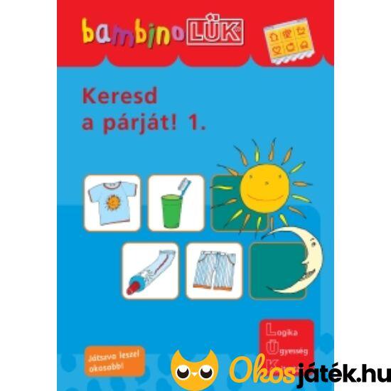 Keresd a párját 1. LÜK Bambino füzet LDI-110