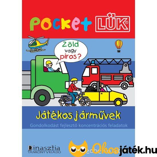 Játékos járművek füzet  Pocket LÜK LDI906 (DI)