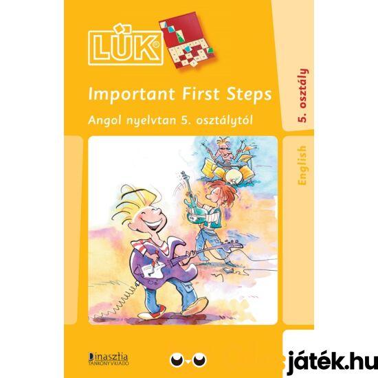 Important first steps - angol nyelvtan 5. osztály - lük füzet 24-es lük táblához (DI)