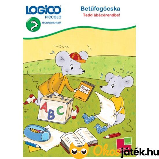 LOGICO Piccolo 3314 - Betűfogócska Tedd ábécérendbe! (TF)