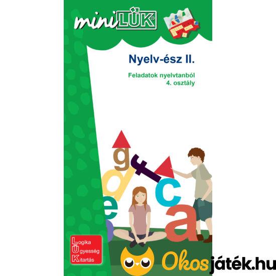 Nyelv-ész II. 4. osztályos nyelvtan feladatok LÜK füzet LDI239 (DI)