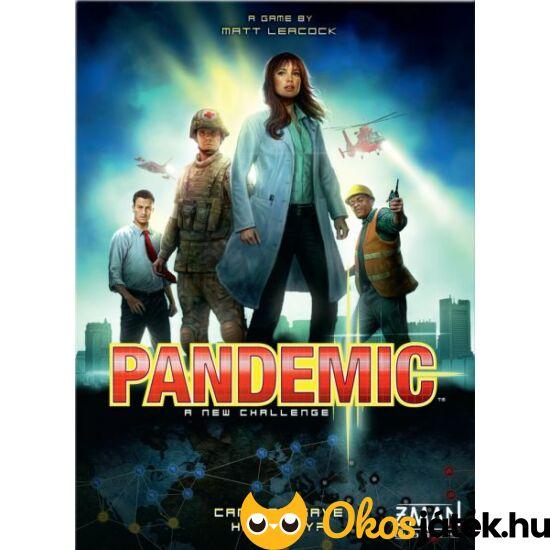 Pandemic izgalmas kooperatív, stratégiai társasjáték (magyar) (GE)