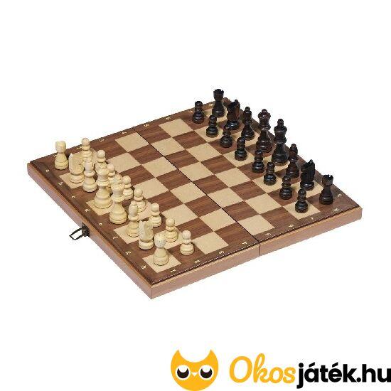 Sakk készlet fából, igényes kivitelben Goki 56922 (954) (HO)