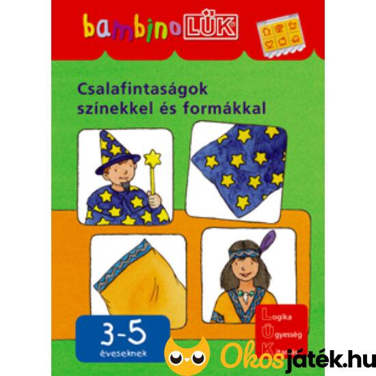 Csalafintaságok színekkel és formákkal LÜK Bambino füzet LDI-116 (DI)