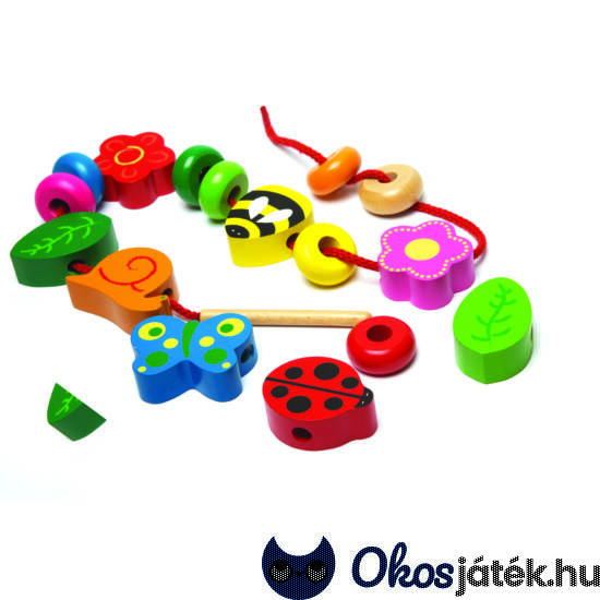 Fa fűző játék JC T-0082 (JC)