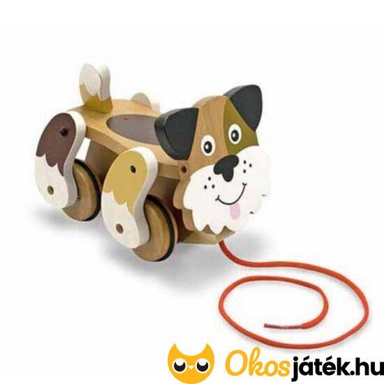 Húzható játék kutya fából- Melissa Doug 13028 (ME)