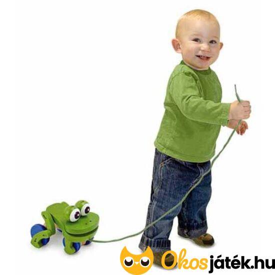 Húzogatós játék (béka) 1-2 éveseknek - Melissa Doug 13021 (ME)