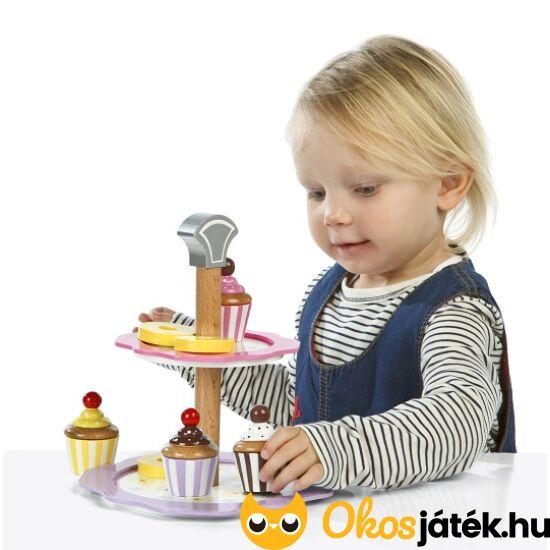 Sütis játék állvány (kisebb) - süteményes szerepjáték JC T-0106 (HO)