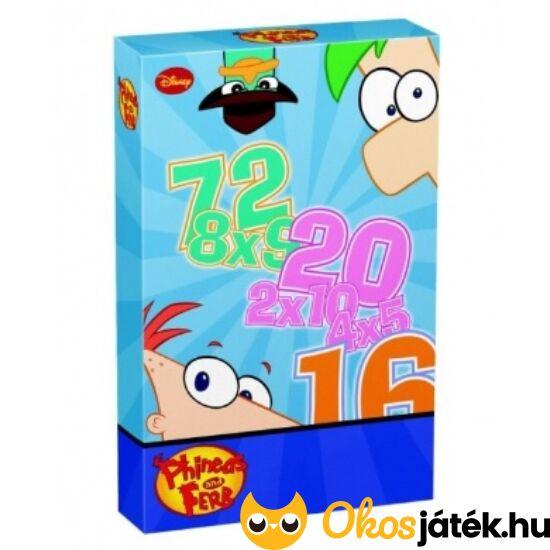 Phineas és Ferb szorzókártya (Piatnik)