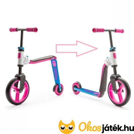 Roller és futóbicikli egyben (rózsaszín) Highwaybuddy (HO)