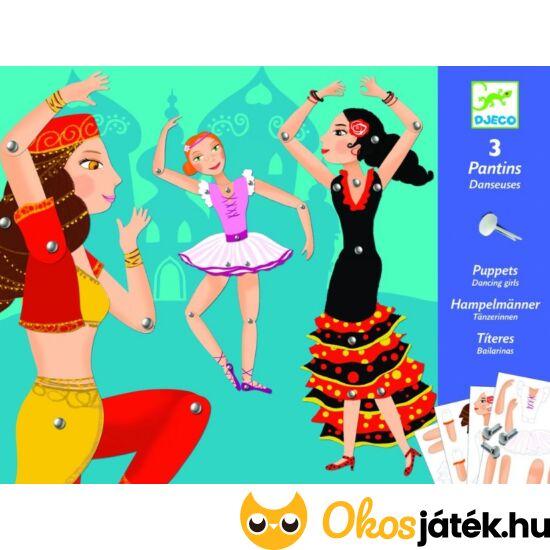 Táncoló lányok - mozgatható papírfigurák - kreatív játék lányoknak Djeco 9652 (BO)