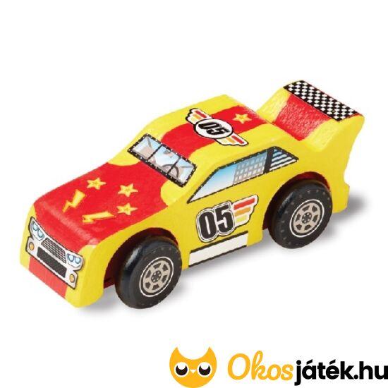 Kifesthető, matricázható autó - kreatív játék fiúknak - Melissa Doug 18829 (ME)