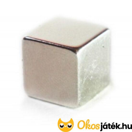 Neodímium mágnes, extra erős kocka (intelligens gyurmához) (YO)